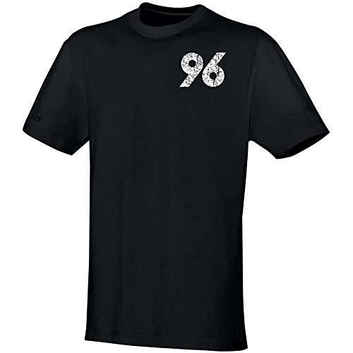 Jako Hannover 96 T-Shirt Replika - schwarz, Größe #:M