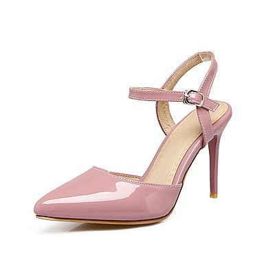 Enochx Donna Sandali Estate Autunno Slingback PU Office & Carriera Party & abito da sera Stiletto Heel fibbia blushing pink