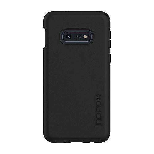 Incipio DualPro Case für Samsung Galaxy S10e - von Samsung zertifizierte Schutzhülle (schwarz) [Qi kompatibel I Extrem robust I Stoßabsorbierend I Soft-Touch Beschichtung I Hybrid] - SA-972-BLK
