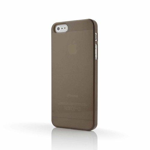 MC24Orginal Crystal Case pour iPhone 5en Anthracite avec étui Screen Protector Crystal-iPhone 5