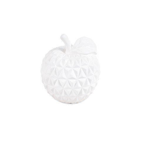 Sigris - Figura Decorativa Manzana Ceramica 12 cm