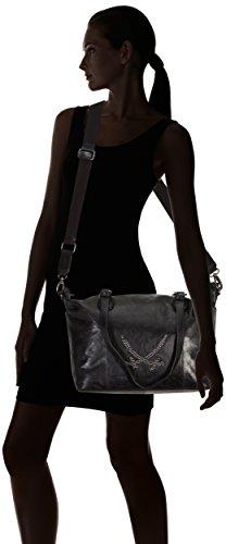 Sansibar  Ostro, shoppers femme Noir - Noir