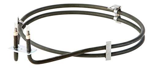 DREHFLEX - Umluftheizung Rundheizung Heißluftheizung Heißluft Heizung - passt für diverse AEG Electrolux Juno Privileg Herd Backofen - passt für Teile-Nr. 397012801-7/3970128017 - Backofen Heizspirale
