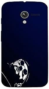 Timpax protective Armor Hard Bumper Back Case Cover. Multicolor printed on 3 Dimensional case with latest & finest graphic design art. Compatible with Motorola Moto -X-1 (1st Gen )Design No : TDZ-24732