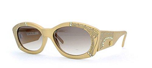 Emmanuelle Khanh Damen Sonnenbrille Gold Gold