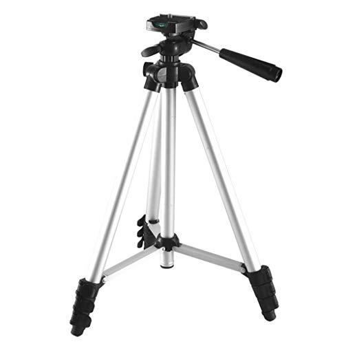cbmghm Lupe Außenbeobachtungsstativ Einstellbare Kamera Video Stativbeine Ständer mit abnehmbarer Flüssigkeit Drag Pan Tilt Kopf für Canon Nikon Sony DSLR-Kamera Camcorder Video-Dreharbeiten