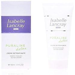 Isabelle Lancray - Puraline Detox Crème Détoxifiante - Feuchtigkeitsspendende 24h Creme, 1er Pack (1 x 50 ml)