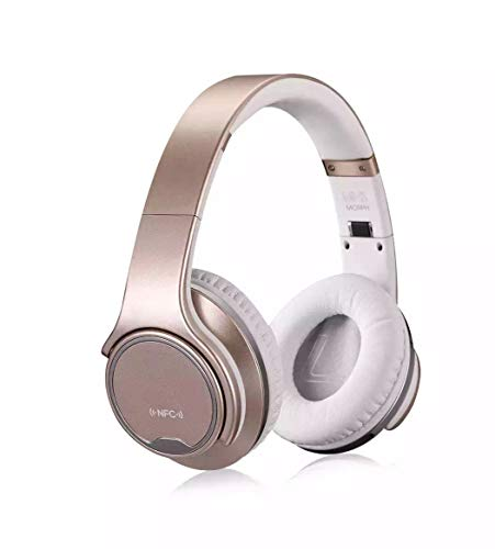 Bluetooth Headset Externe Audio Ohr-Haken Kopf montiert Hals Led Clip-Typ Sport Bluetooth Wireless Call Stereo Headset Bluetooth Headset Lautsprecher Combo,Metallic