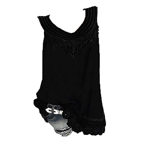BOLANQ Bluse Gestreift Damen Hemd Oberteile V-Ausschnitt Lose Casual Chiffon Langarm T-Shirt Top Tunika Elegant ()