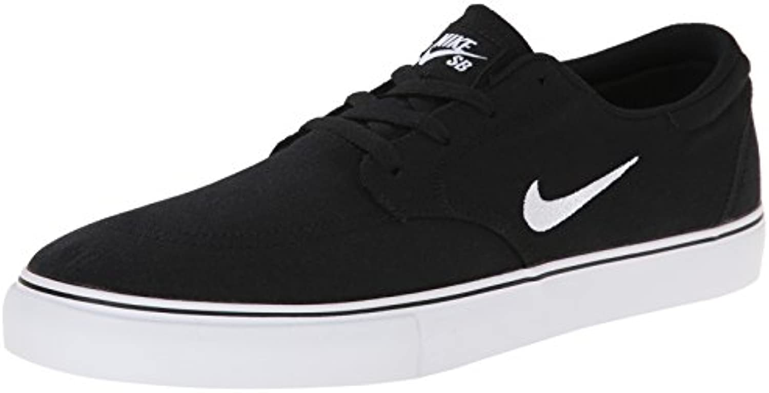 NIKE Men's SB Clutch Skateboarding Shoe  Black  7 D(M) US