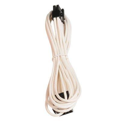 BitFenix Verlängerungskabel (8-Polig PCIe), 45 cm weiß/schwarz (Weiß Cpu)