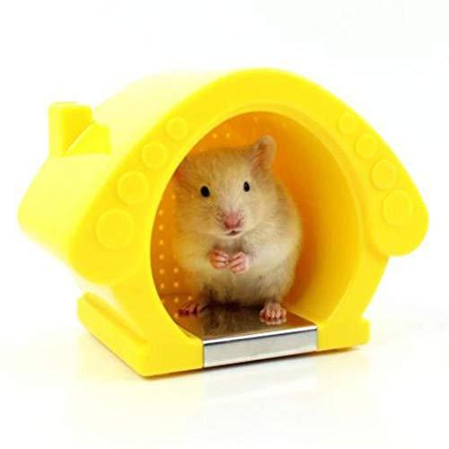 POPETPOP Kleintier-Iglu-Versteck-Hamster Kühlraum Mini-Iglu-Versteck Sommerkühlnest für Chinchilla, Ratte, Maus, Zuckersegelflugzeug, Syrischer Hamster, Rennmaus-Zufällige Farbe (Chinchilla-iglu)