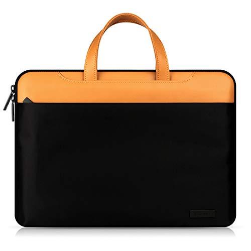 AREDOVL 11,6 Zoll 12 Zoll Laptop Sleeve Hülle Schutztasche, Ultrabook Notebook Tragetasche Handtasche für 13.3 Zoll 15.4 Zoll Computer (Size : 15.4inch) 13,3-zoll-ultrabooks Notebook