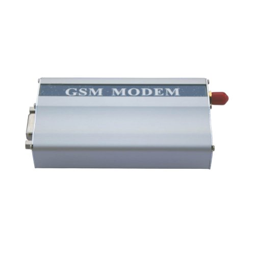 Generic GSM Modem with Wavecom Q2303A Module COM RS232 Serial Port AT Commands SMS Voice Call US Plug Power Adapter