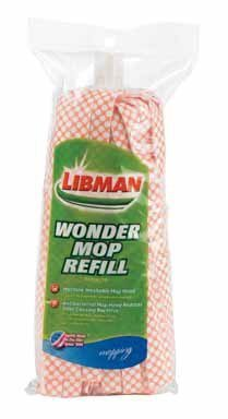 Libman Wonder Mop Refill (Pack of 4) by The Libman Company Libman Wonder Mop Refill