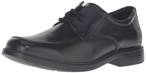Skechers USA Men's Caswell Oxford, Black, 9.5 M US