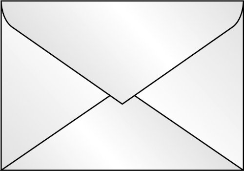 SIGEL DU030 Briefumschläge transparent, DIN C6, 25 Stück - weitere Größen -