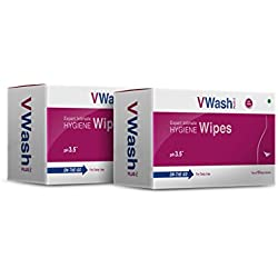 Vwash Plus Wipes - Pack of 2