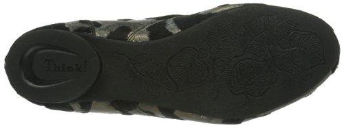 Think Guad Damen Desert Boots Schwarz (SZ/BRONZE-12)