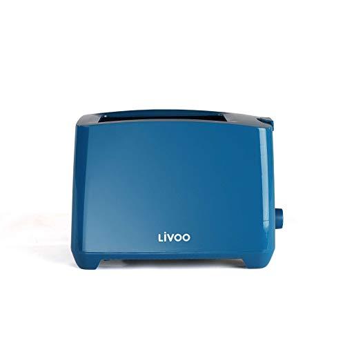 Tostapane automatico in blu.    750 Watt - blu - funzione di spegnimento, riscaldamento e scongelamento manuale - termostato regolabile - espulsione automatica - cassetto raccoglibriciole    Tostapane blu con termostato regolabile.    Pratico tost...