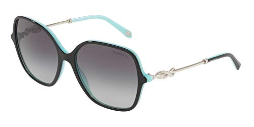 Tiffany & Co. Damen 0TY4145B 80553C 57 Sonnenbrille, Schwarz (Black/Blue/Greygradient),
