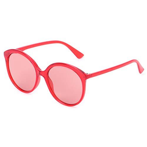 Yanhonin Sonnenbrille, schick, Unisex, UV400, Farbe Bonbons, Marke Designer 2