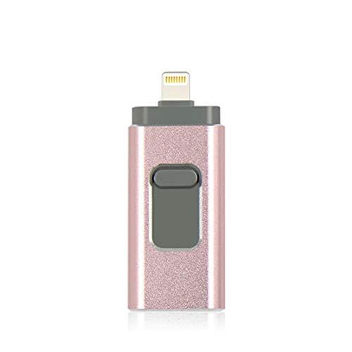 High Speed   3 in 1 USB-Stick 16 GB 32 GB 64 GB 128 GB USB-Stick 64 GB 128 GB Flash-USB-Stick u Festplatte für IOS/Android,D,64GB