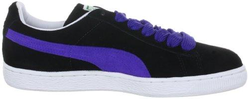 Puma Suede Classic + Herren Sneakers Schwarz (black-spectrum blue 46)