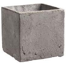 Übertöpfe beton-grau 13 x 13 x 13,5 cm