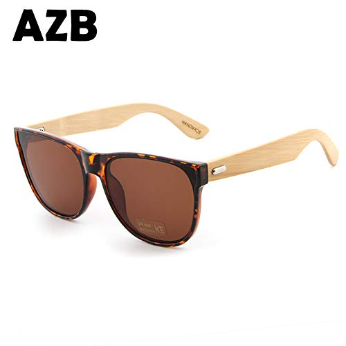 7d07b9aa99f AZB sunglasses without box PC box handmade bamboo sunglasses men s wooden  sunglasses women Porized Oculos de