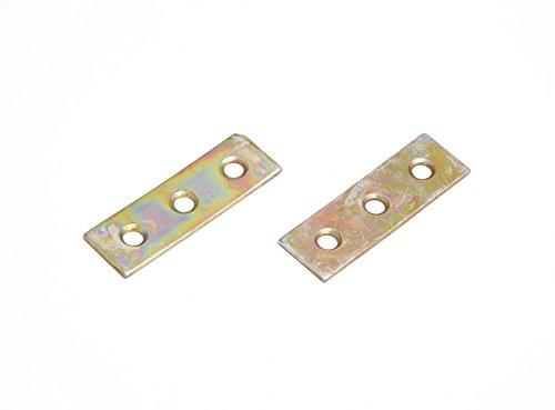 Mending riparazione Collegamento Piastre 50 millimetri zincato YZP acciaio Pack Of 48
