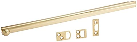 Deltana 12SBCS3 Hd Concealed Screw Solid Brass 12-Inch Surface Bolt