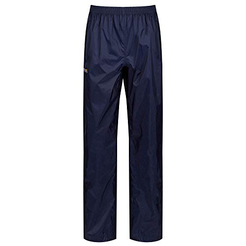 Regatta Pack-It Regenhose für Damen, Blau (marine), Gr.  Small  (34-36 EU)