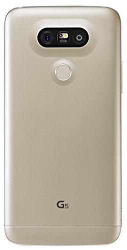 """LG G5 - Smartphone de 5.3"""" (Qualcomm Snapdragon 820 2.1 GHz, 4 GB RAM, 32 GB memoria interna, doble cámara de 16 MP y 8 MP, gran angular, grabación de vídeo 4K, Android 6.0 Marshmallow), color oro (versión alemana)"""
