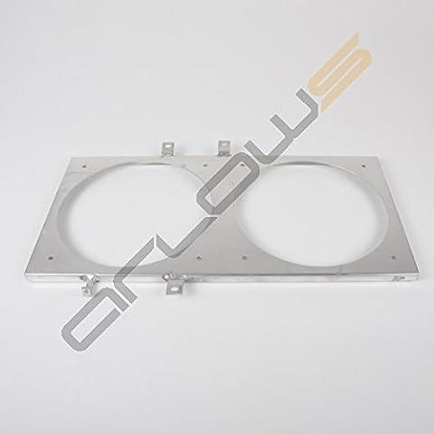 Alluminio Ventola lamiera Honda CRX 88–91(supporto/fissaggio per (Spal Ventole Di Raffreddamento)