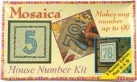 Mosaic House Number Kit