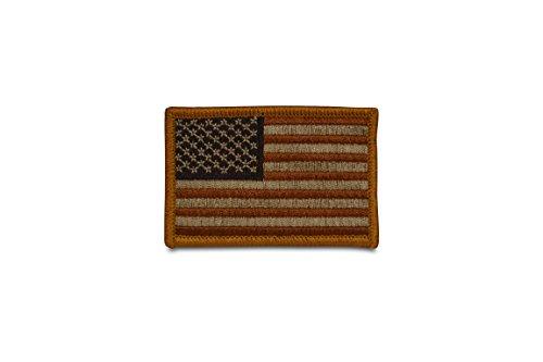 American Flagge USA Flagge Patch-Multitan-bestickt Patch Bronze - Gold