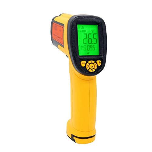 Qtavyep Termómetro infrarrojo de Mano de Alta precisión termómetro infrarrojo Termómetro -18 °...