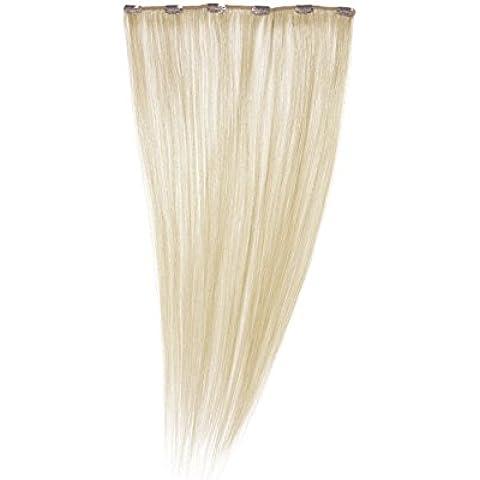 Love Hair Extensiones de clip de pelo natural, color rubio