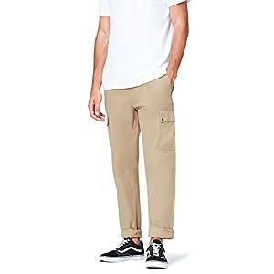 Marchio Amazon - find. Pantaloni Cargo in Cotone Uomo 8 spesavip