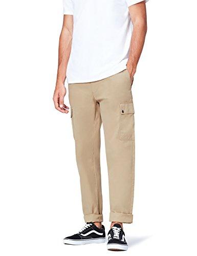 Marchio Amazon find. Pantaloni Cargo Cotone Uomo