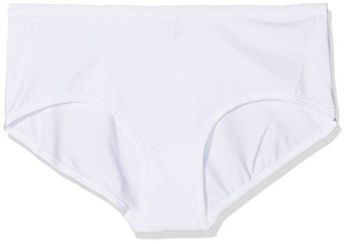 POMPEA Cotton, Slip Donna, (Bianco 0024), 52 (Taglia Produttore:7)(Pacco da 3)