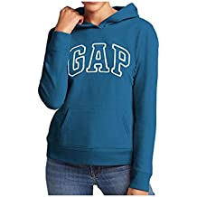 Gap Womens Fleece Arch Logo sudadera con capucha