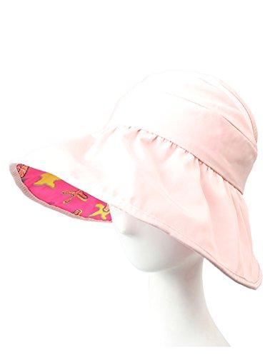 Enfant et femme été chapeau de soleil Anti-UV Vide, haut, soleil, chapeau Plage plage Bonnet solaire ( couleur : 6 ) 4