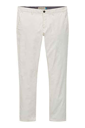next Hommes Coupe Slim Pantalon Chino Stretch Naturel