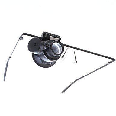 Eyewear Style Single 20X Lupe mit weißem LED-Licht