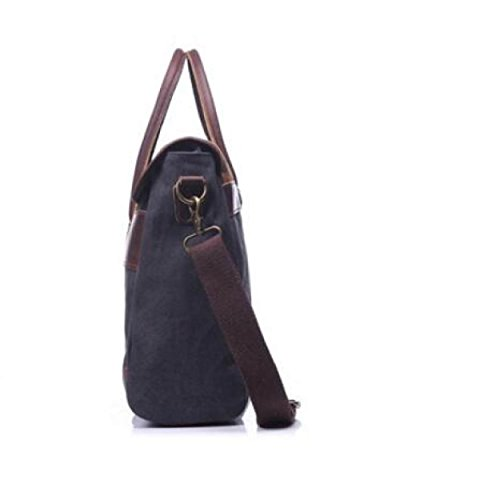 FZHLY Portemonnaie Mit Hoher Kapazität Cross-Schulter Messenger Bag Gray