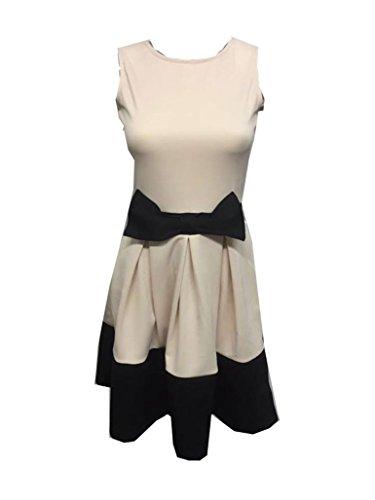 N&L Private LTD - Robe - Robe - Femme noir noir Taille Unique Crème