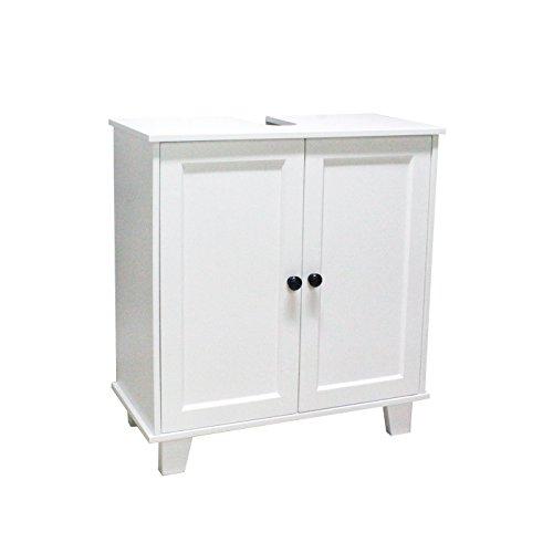 Mobile bagno mobile lavabo per lavabo mobile bagno moderno minimalista bianco realizzato in mdf ecocompatibile per case e bagni di piccole dimensioni (b60*t30*h65)