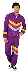 Bristol Novelty- Shell Suit Male XL Disfraz, Multicolor, extra-large (AF117XL)